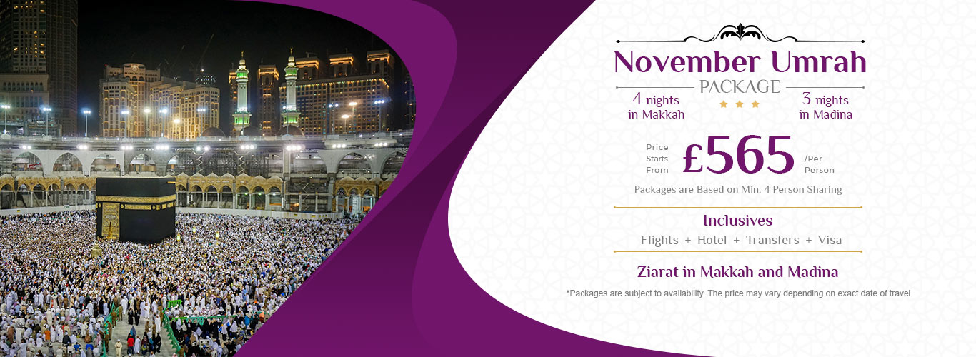 November Umrah Package