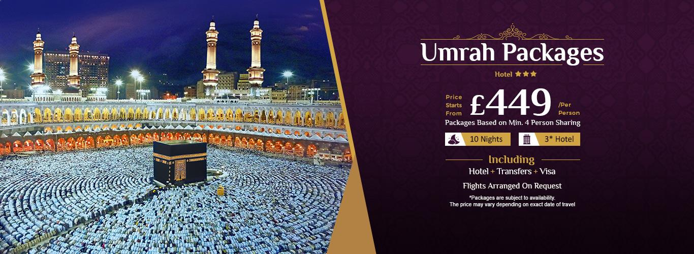 Umrah Banner: Umrah Packages 2018: Cheap Umrah Packages From UK