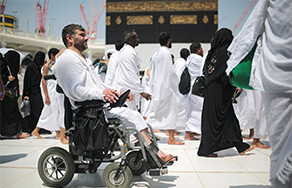 Rules for muslims who are unable to complete hajj